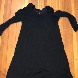 old navy cold shoulder dress worn once